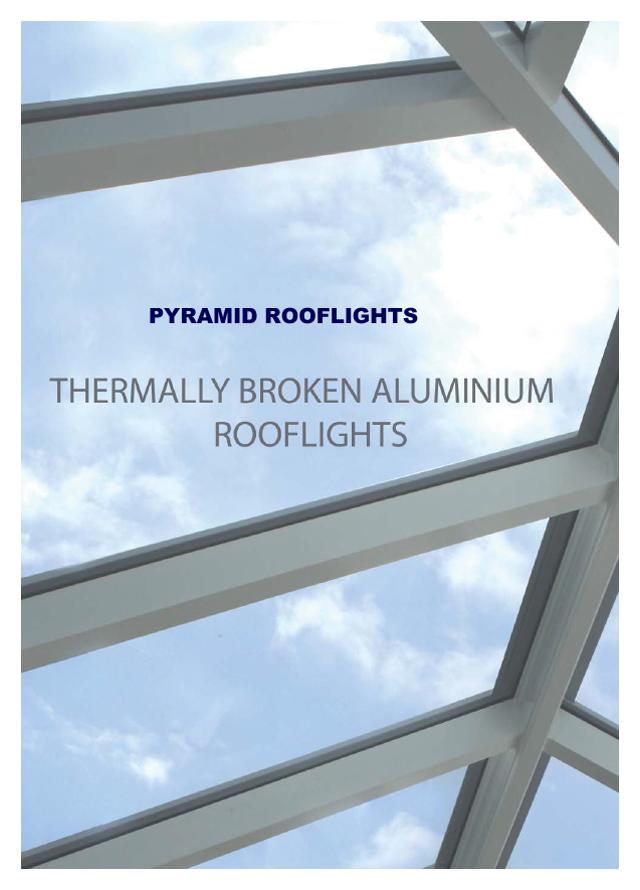 Shaws pyramid ally roof lanterns