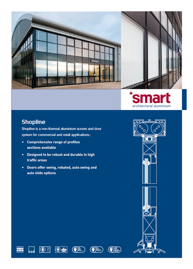 Smart commercial shopline non thermal