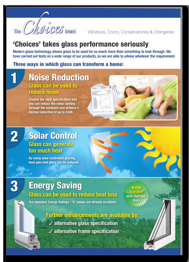 Glazing solutions