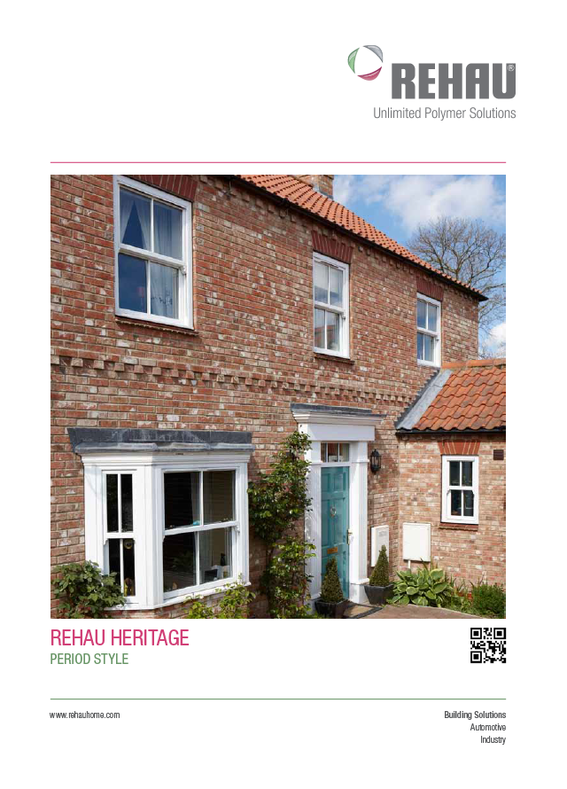 Rehau heritage vertical sliding sash windows