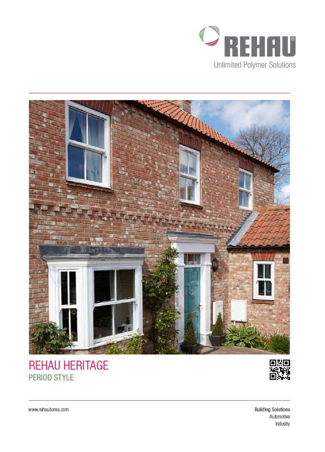 Rehau heritage vertical sliding sash windows