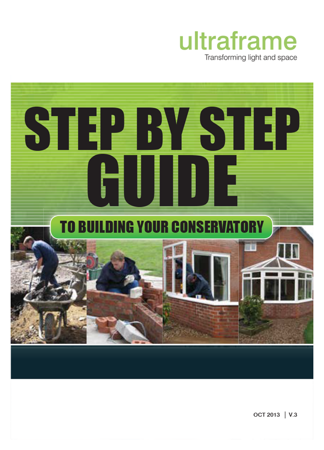 Self build conservatory guide