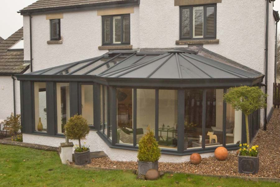 Ultraframe livinroof conservatory roof shaws of crawley