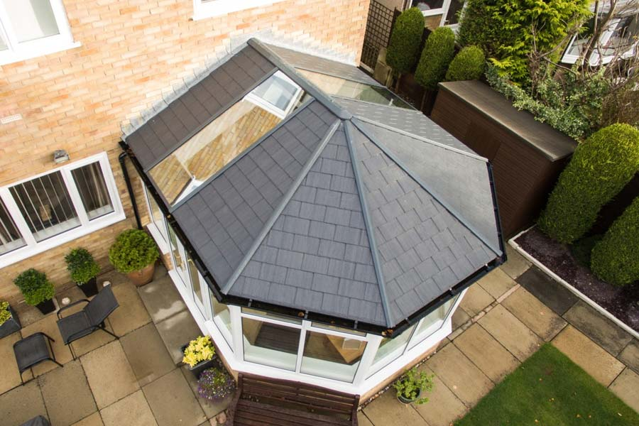 Ultraframe tiled conservatory roofs shaws of crawley