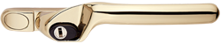 Crank handle gold