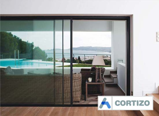 Cortizo cor vision sliding door system