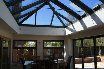 Double hipped roof lights 1
