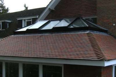 Double hipped roof lights 2