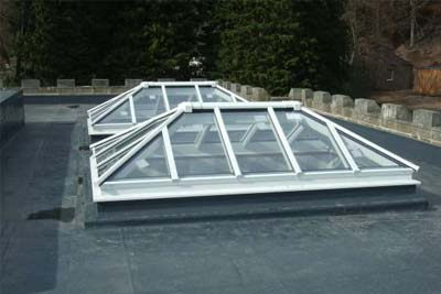 Double hipped roof lights 8