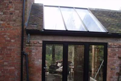 Double pitched roof lights 5