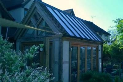 Gable ended rooflight 2