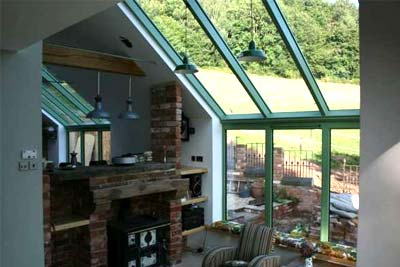 Mono pitched roofs 9