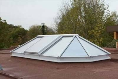 Multi faceted rooflights 1
