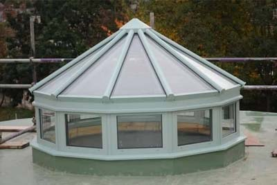 Multi faceted rooflights 4