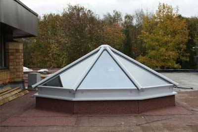 Multi faceted rooflights 5
