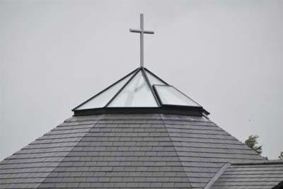 Octagon roof light 2
