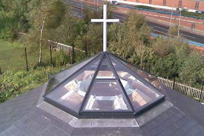 Octagon roof light 6