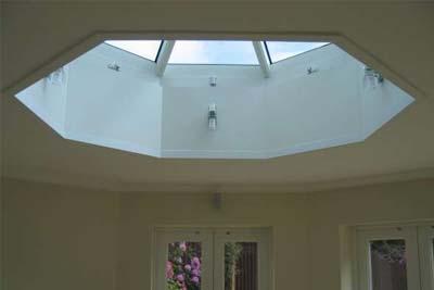 Octagon roof light 7