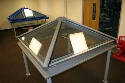 Pyramid roof lights 1