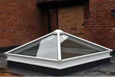 Pyramid roof lights 2