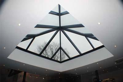 Pyramid roof lights 3