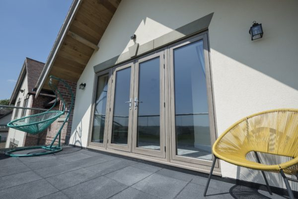 French doors out residence 7