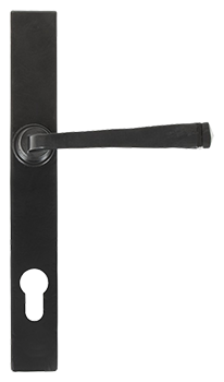 Black avon slimline handle for residence doors and windows