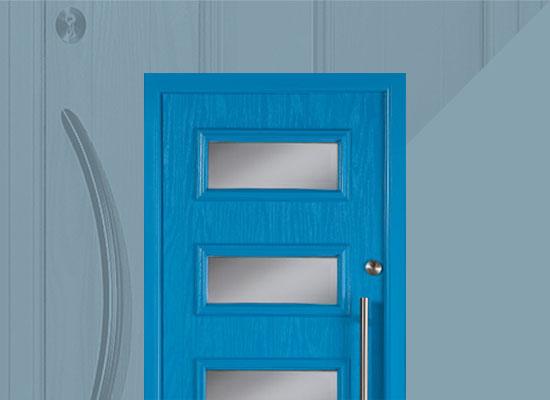 Apeer contemporary style door range