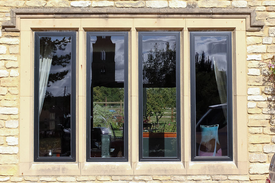 Alitherm heritage windows slim sightlines