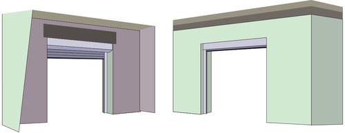 Reveal face fix garage doors