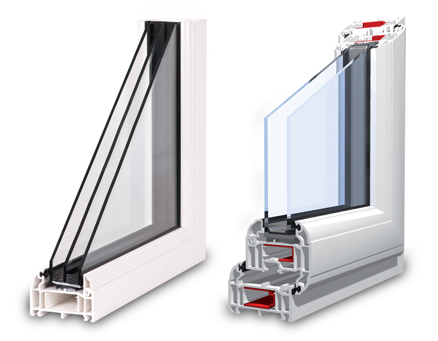 Images of Double and Triple Glazing